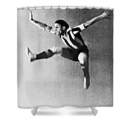 Moscow Opera Ballet Dancer Shower Curtain