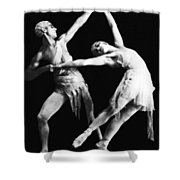 Moscow Opera Ballet Dancers Shower Curtain