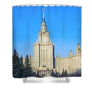 Moscow State University Shower Curtain