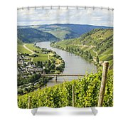 Mosel Area Shower Curtain