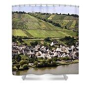 Mosel Wine Village Shower Curtain