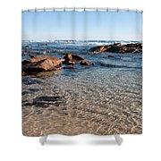 Moses Rock Beach 04 Shower Curtain
