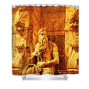 Moses Shower Curtain