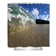 Moses Wave Shower Curtain