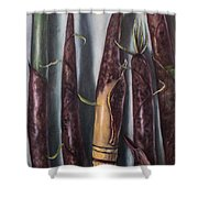 Moso Bamboo  Shower Curtain
