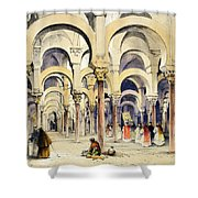 Mosque At Cordoba, From Sketches Shower Curtain