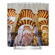 Mosque-cathedral In Cordoba Shower Curtain