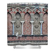 Mosque Cathedral Of Cordoba Also Called The Mezquita Shower Curtain