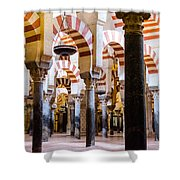 Mosque Cathedral Of Cordoba  Shower Curtain