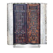 Mosque Doors 01 Shower Curtain