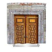 Mosque Doors 05 Shower Curtain