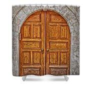 Mosque Doors 06 Shower Curtain