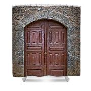 Mosque Doors 11 Shower Curtain