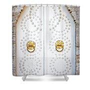 Mosque Doors 14 Shower Curtain