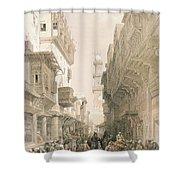 Mosque El Mooristan, Cairo, From Egypt Shower Curtain