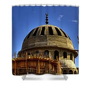 Mosque Under Construction 01 Shower Curtain