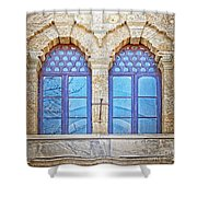 Mosque Windows 3 Shower Curtain