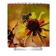 Mosquito Hawk Shower Curtain