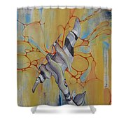 Mosquito Madness Shower Curtain