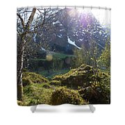 Moss And Sushine Shower Curtain