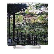 Moss Garden Temple - Kyoto Japan Shower Curtain