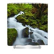Mossy Creek Cascade Shower Curtain