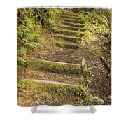 Mossy Path Shower Curtain