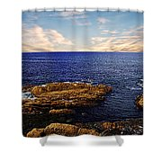 Mossy Point 2 Shower Curtain