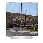 Motel 4 Shower Curtain