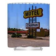 Motel Capitan Shower Curtain
