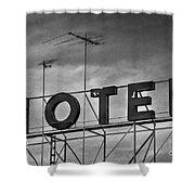 Motel Shower Curtain