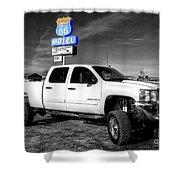Motel Pickup  Shower Curtain