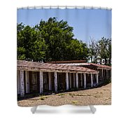 Motel Rooms Shower Curtain