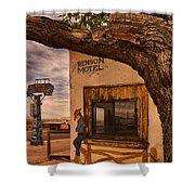 Motel Vacancy Shower Curtain