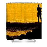 Mother And Daughter Time Shower Curtain