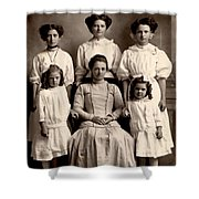 Mother And Daughters Shower Curtain