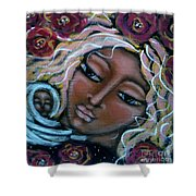 Mother Divine Shower Curtain