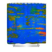 Mother Earth 1 Abstract Shower Curtain