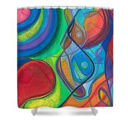 Mother Earth - Plant Healing - Gaia - Heart Chamber Awakening Shower Curtain