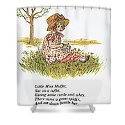Mother Goose, 1881 Shower Curtain