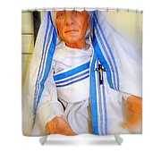 Mother In Motion Shower Curtain