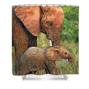 Mother Love 2 Shower Curtain