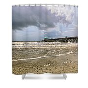 Mother Nature's Wrath Shower Curtain