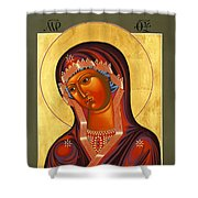 Mother Of God Similar To Fire 007 Shower Curtain