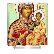 Mother Of Jesus Shower Curtain