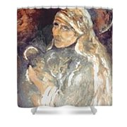 Mother Teresa Of Calcutta India Shower Curtain