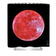 Motherly Moon Shower Curtain