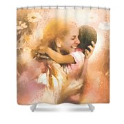 Mother's Arms Shower Curtain