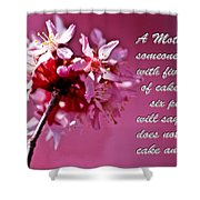 Mother's Day Sharing Shower Curtain