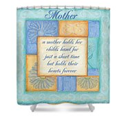 Mother's Day Spa Card Shower Curtain